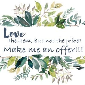💗🛍MAKE ME AN OFFER!!!🎉🛍